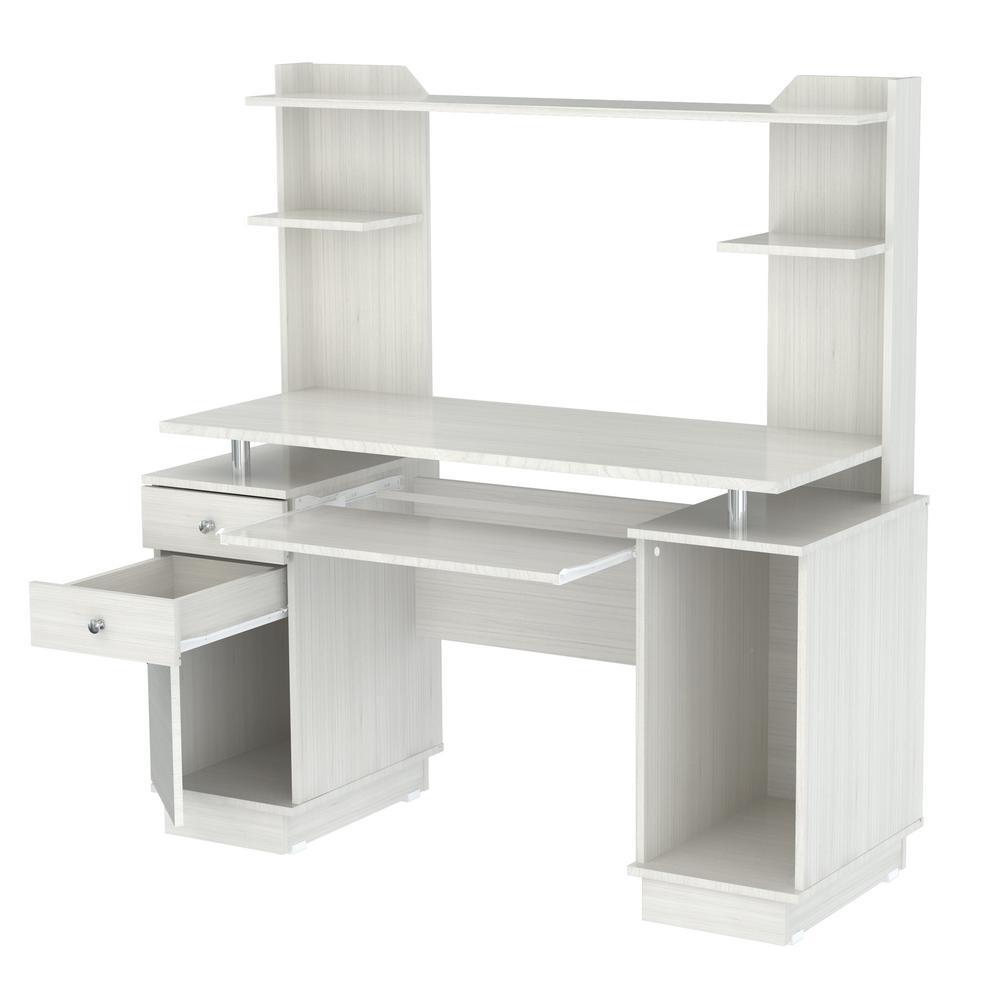 Inval Laricina White Computer Desk CC-5901
