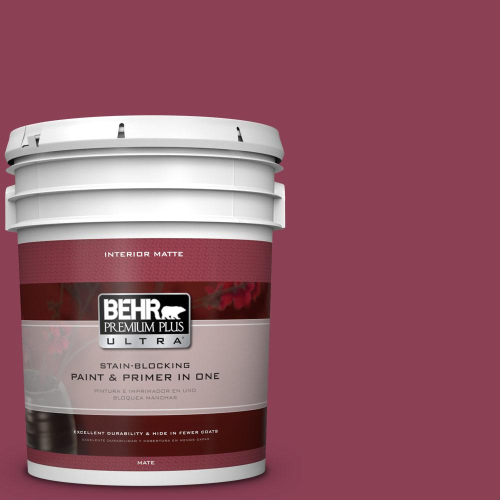 BEHR Premium Plus Ultra 5-gal. #T15-1 Liaison Flat/Matte Interior Paint