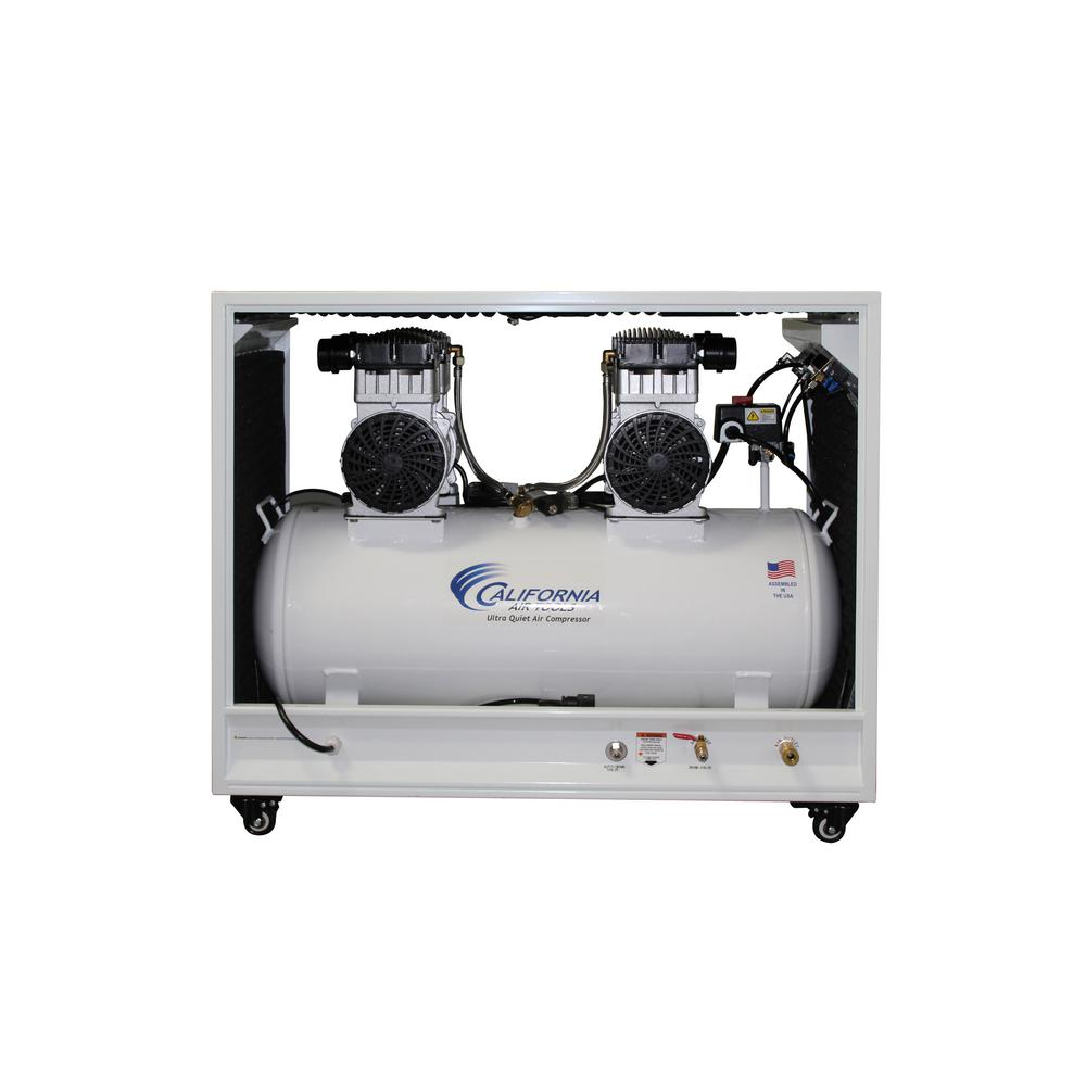 California Air Tools 20 Gal. 4.0 HP Ultra Quiet and Oil-Free Electric Air Compressor in Sound Proof Cabinet