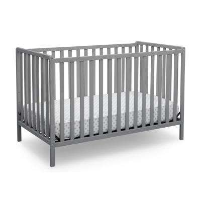 Heartland Grey 4-in-1 Convertible Crib