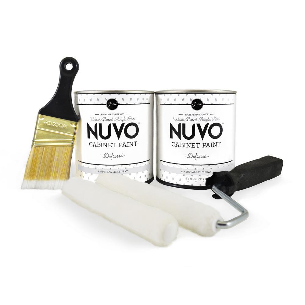 NuVo 2 Qt. Driftwood Cabinet Paint Kit