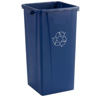 Centurian 23 Gal. Blue Square Waste Container (4-Case)