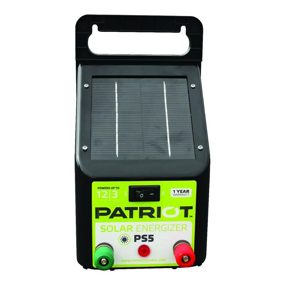 Patriot PS5 Solar Energizer - 0.04 Joule