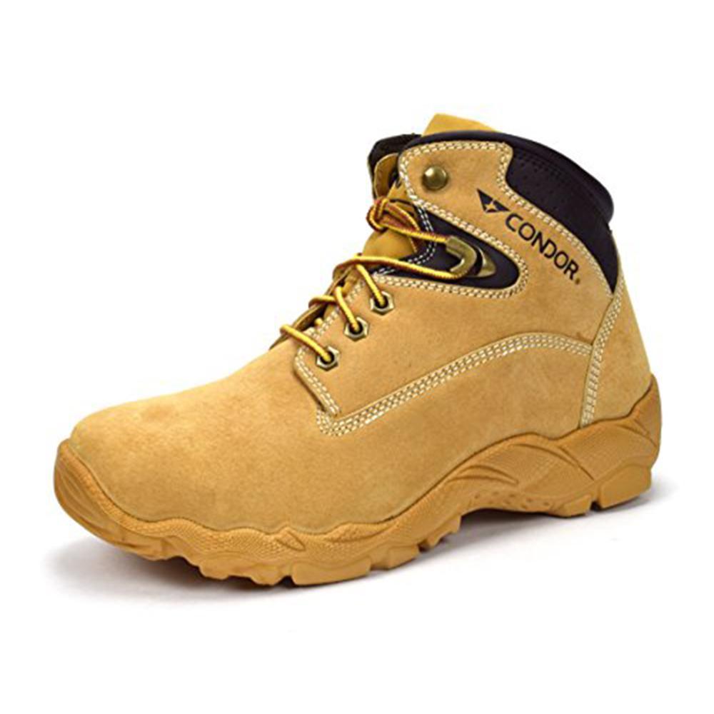Men's 6 in. Honey Size 11 E US Steel Toe Work Boot