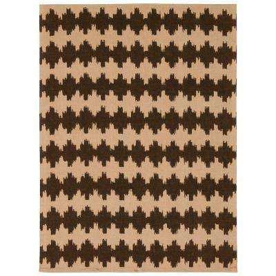 Color Motion Darjeeling Tea 5 ft. x 7 ft. Area Rug
