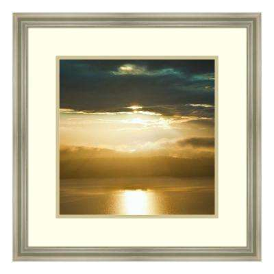 """""""Orcas Sunset 1"""" by Golie Miamee Framed Wall Art"""