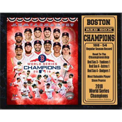 Boston Red Sox Champions by Encore Select Framed Canvas Wall Art