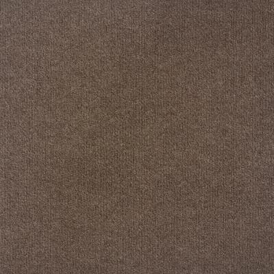 Contender Single Rib Espresso 24 in. x 24 in. Commercial Peel and Stick Carpet Tiles (15 Tiles/Case)