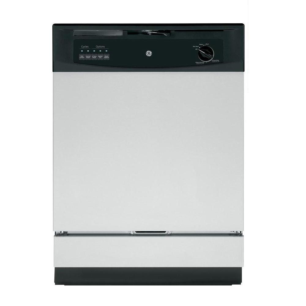 Ge Front Control Dishwasher In