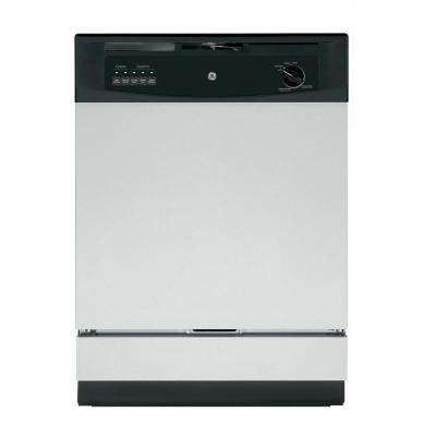 Front Control Dishwasher in Stainless Steel, 62 dBA