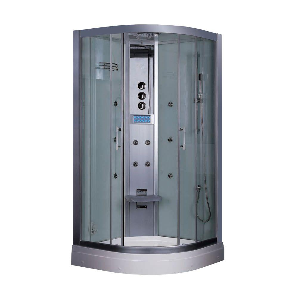 35.5 in. x 87.5 in. x 35.5 in. Steam Shower Enclosure