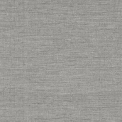 Essence Grey Linen Texture Vinyl Strippable Wallpaper (Covers 60.8 sq. ft.)