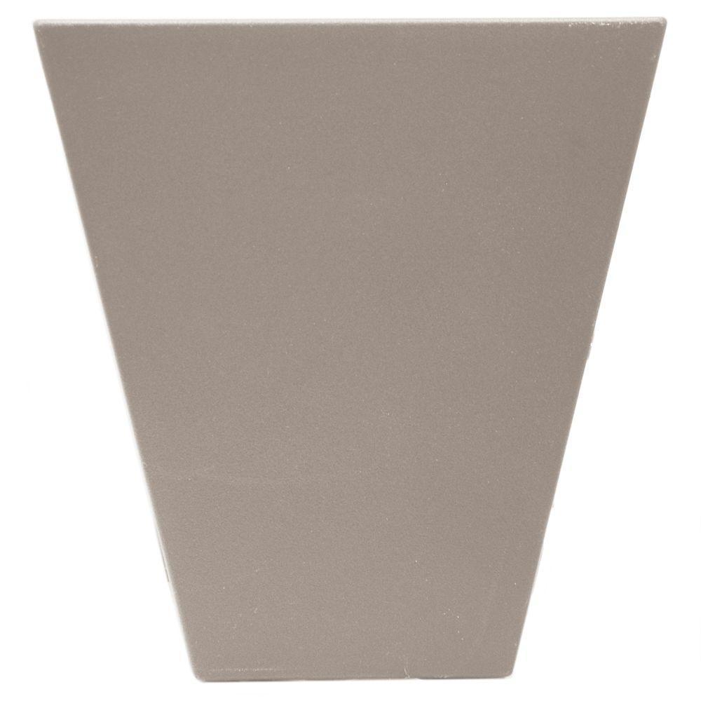 9 in. Flat Panel Window Header Keystone in 008 Clay