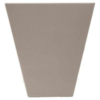 9 in. Flat Panel Window Header Keystone in 008 Clay