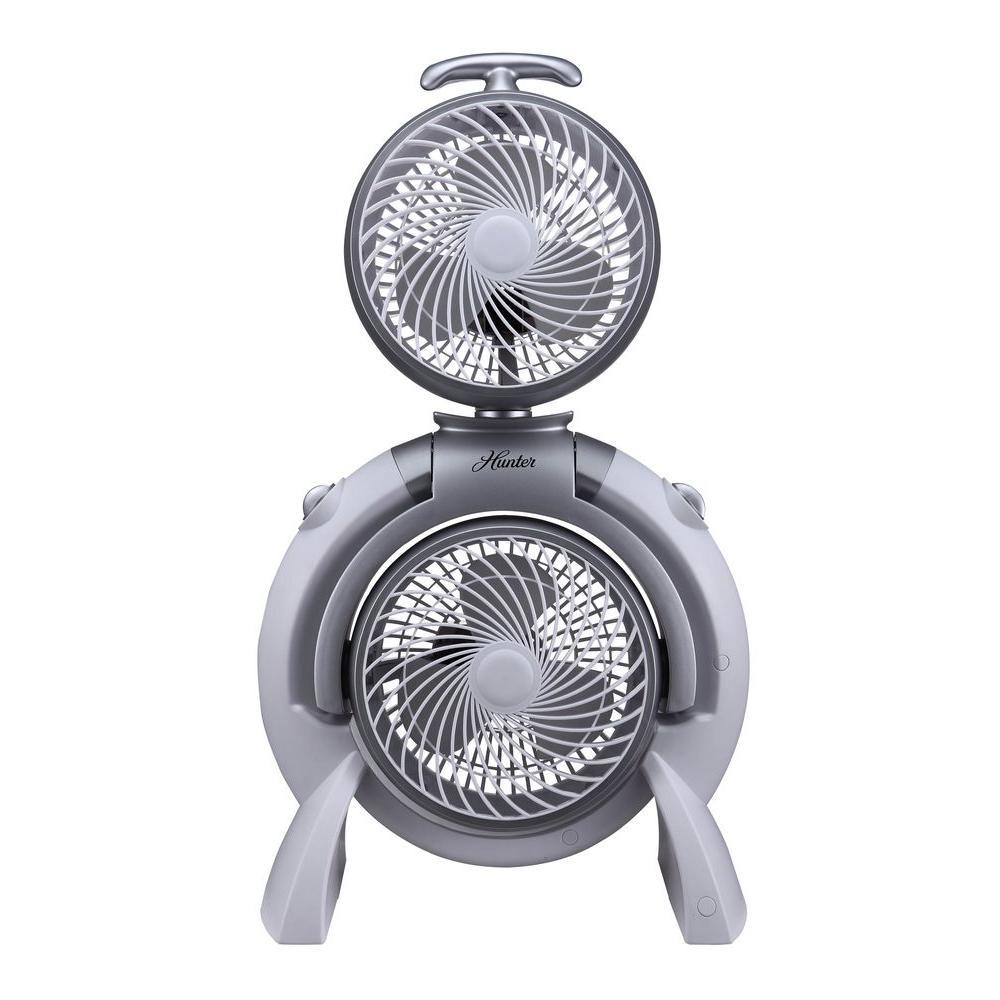 Adjustable 10 in. 3-Speed Dual Tower Fan