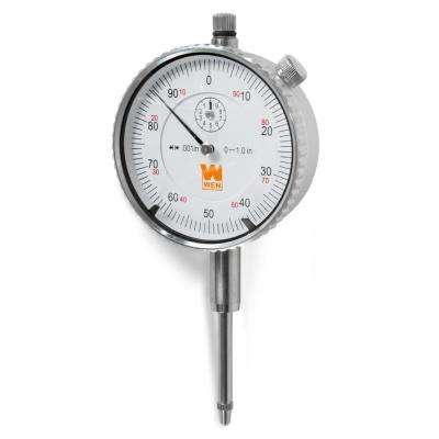 1 in. Precision Dial Indicator with .001 in. Resolution