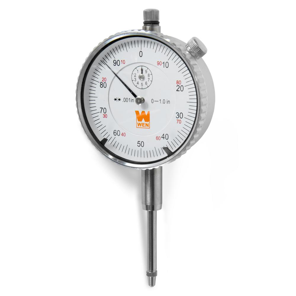 WEN 1 in. Precision Dial Indicator with .001 in. Resolution
