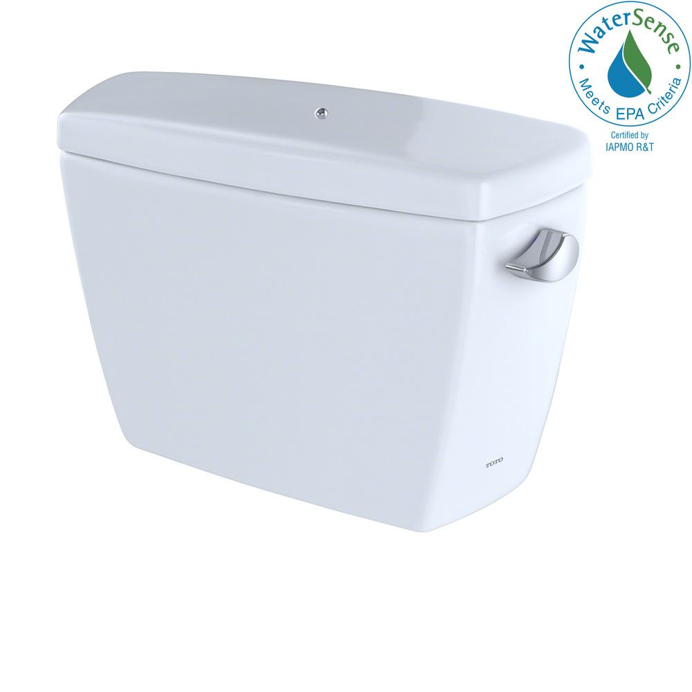Drake 1.28 GPF Single Flush Toilet Tank Onlywith Right Hand Trip