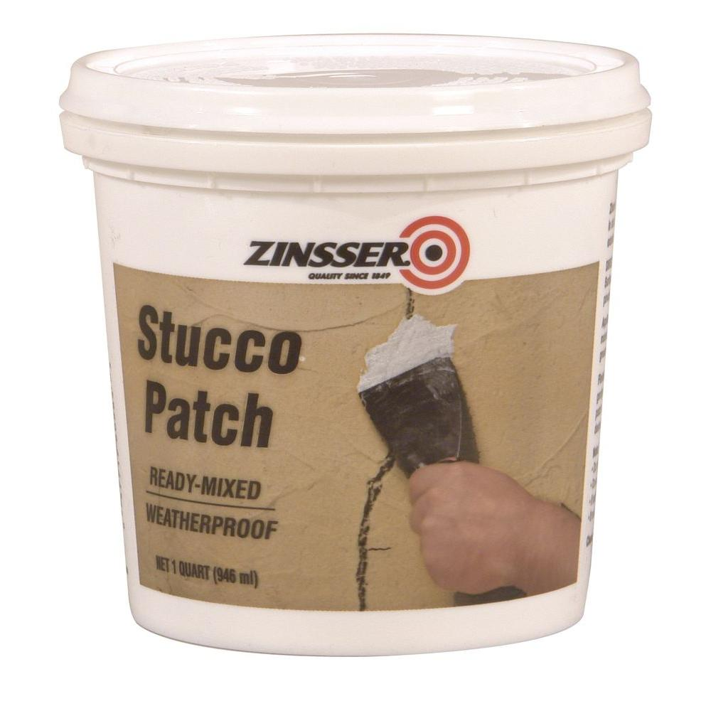 Zinsser 1 qt. Ready-Mixed Stucco Patch (Case of 6)