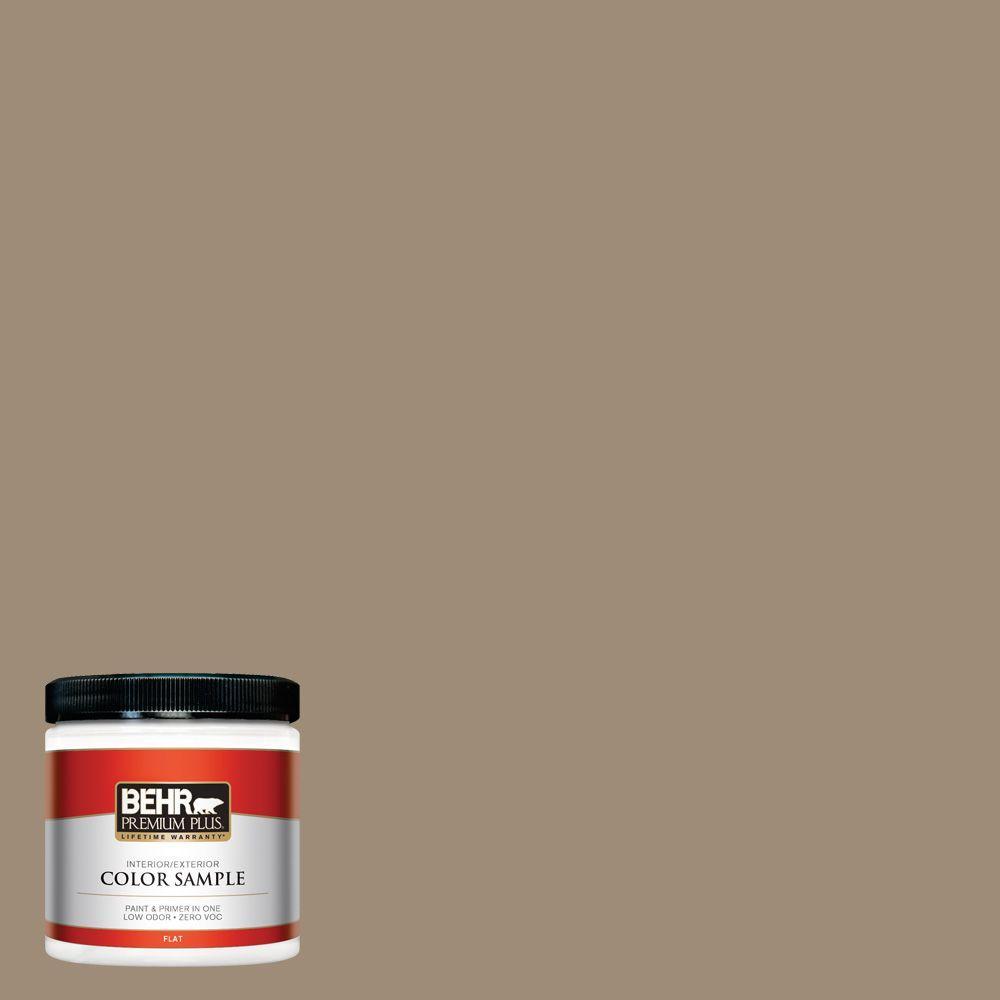 BEHR Premium Plus 8 oz. #ECC-17-1 Cottage Walk Interior/Exterior Paint Sample
