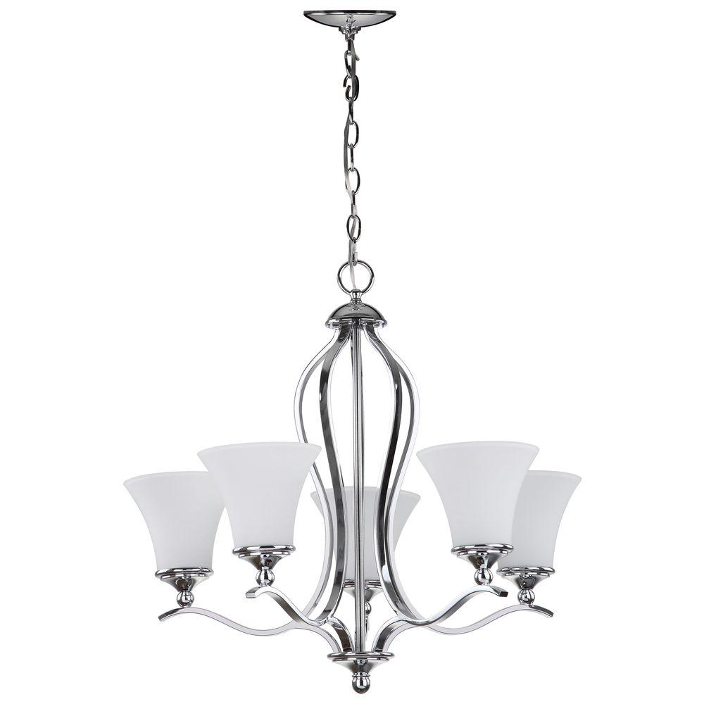 Safavieh celeste 5 light chrome chandelier lit4193a the home depot safavieh celeste 5 light chrome chandelier arubaitofo Image collections