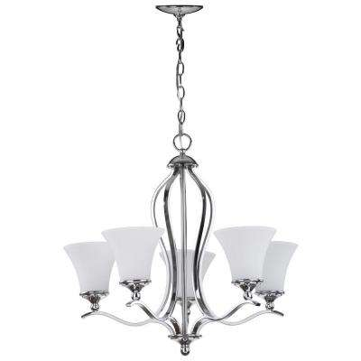 Celeste 5-Light Chrome Chandelier