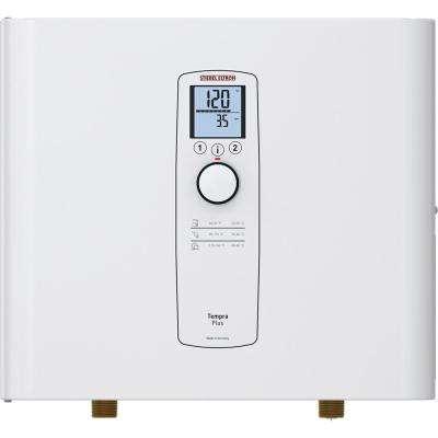 Tempra 12 Plus Advanced Flow Control & Self-Modulating 12 kW 2.34 GPM Compact Residential Electric Tankless Water Heater