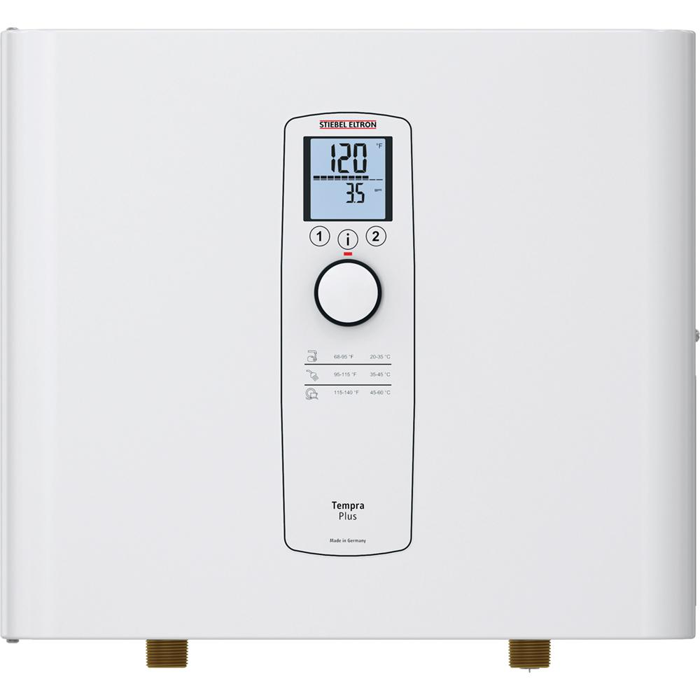 Stiebel Eltron Tempra 20 Plus Advanced Flow Control & Self-Modulating 20 kW 3.90 GPM Compact Residential Electric Tankless Water Heater