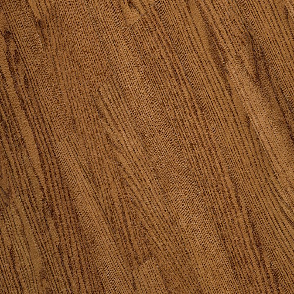 Bruce Bayport Oak Gunstock 3/4 in. Thick x 3-1/4 in. Wide x Varying Length Solid Hardwood Flooring (22 sq. ft. / case)
