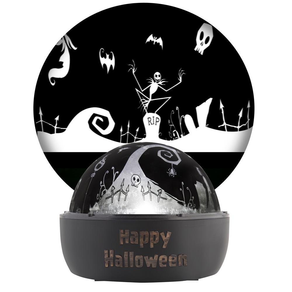 Jack Skellington LED Halloween Tabletop Projector