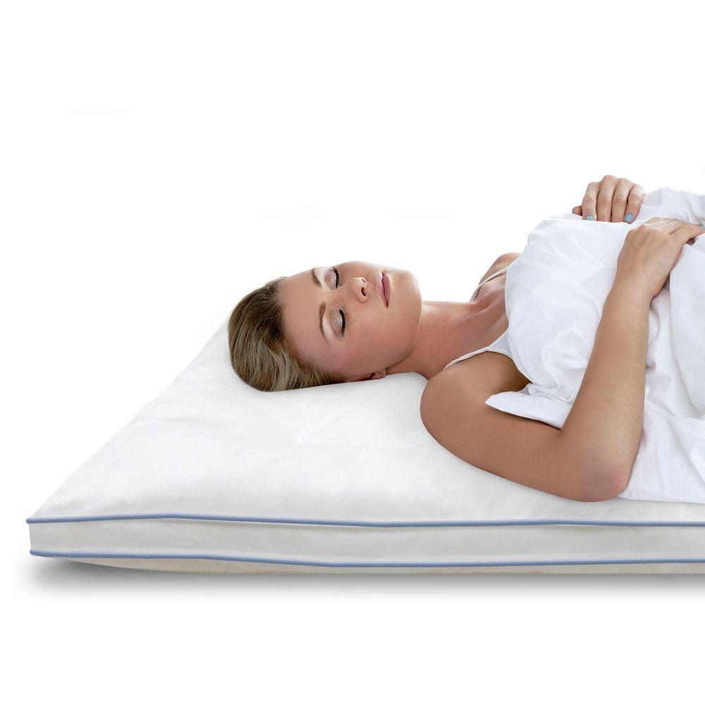 BioPEDIC Memory Plus 3 in. Full Memory Foam and Fiber Mattress Pad