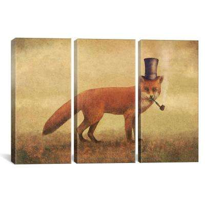 Crazy Like A Fox by Terry Fan Canvas Wall Art