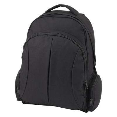 Black Organizer Backpack