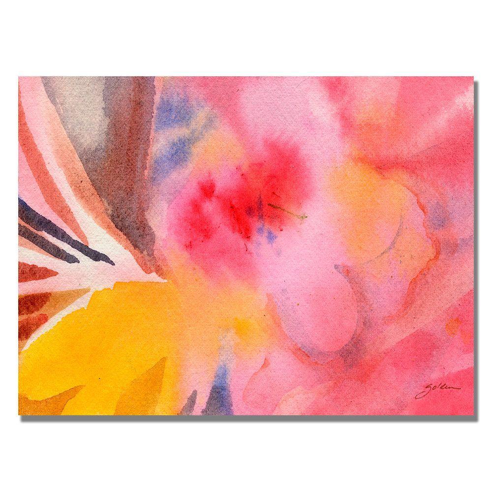 35 in. x 47 in. Pink Tones Canvas Art