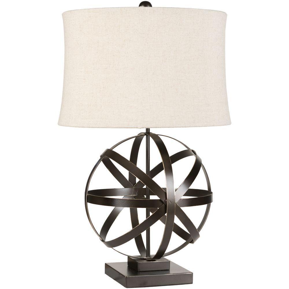 Farrell 28.5 in. Bronze Indoor Table Lamp