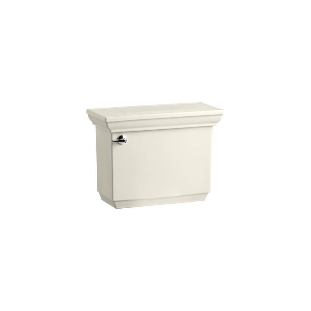 Memoirs Stately 1.6 GPF Single Flush Toilet Tank Only in Biscuit