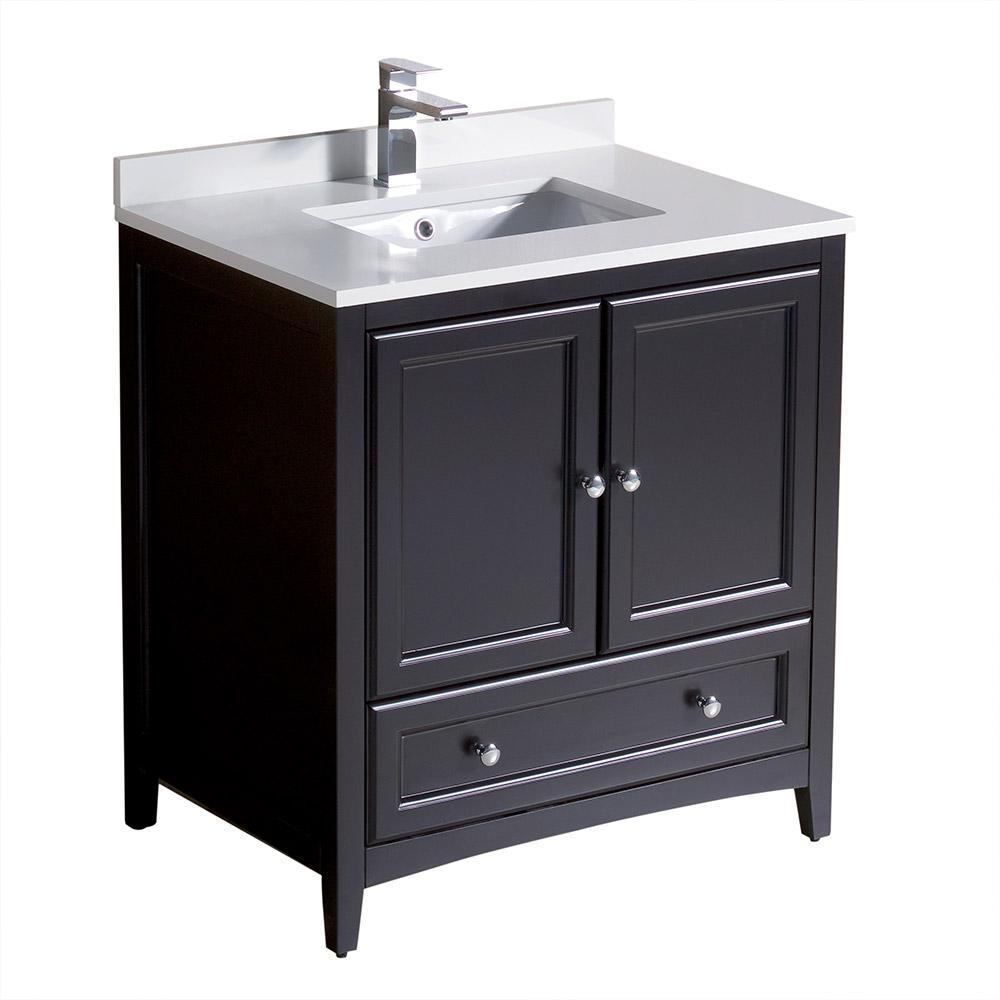 Single Sink Vanities with Tops Bathroom Vanities The Home Depot