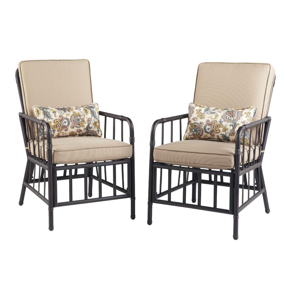 Martha Stewart Living Bryant Cove Patio Dining Chair (2-Pack)
