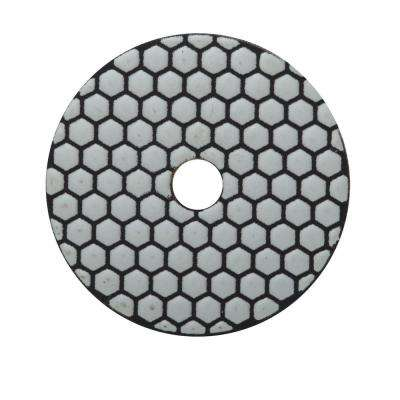 4 in. 200 Grit Resin Dry Polishing Pad