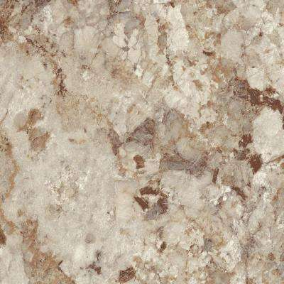 3 in. x 5 in. Laminate Countertop Sample in Autumn Carnival with HD Mirage Finish