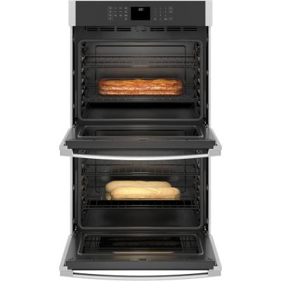 30 in. Smart Double Electric Wall Oven Self-Cleaning in Stainless Steel