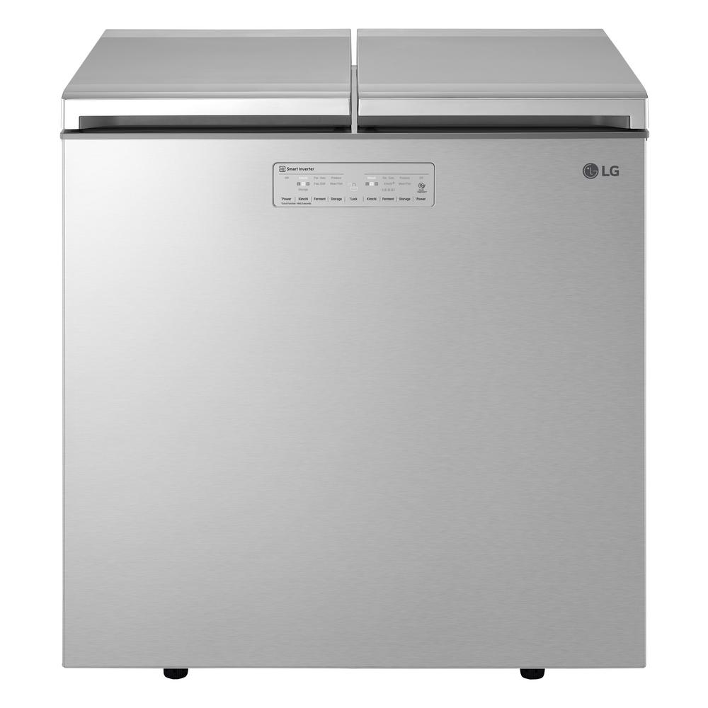 LG Electronics 7.60 cu. ft. Kimchi Chest Refrigerator in Platinum Silver, ENERGY STAR LG Electronics 7.60 cu. ft. Kimchi Chest Refrigerator in Platinum Silver, ENERGY STAR