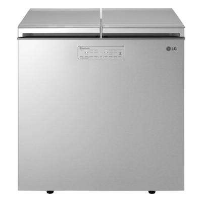 7.60 cu. ft. Kimchi Chest Refrigerator in Platinum Silver, ENERGY STAR