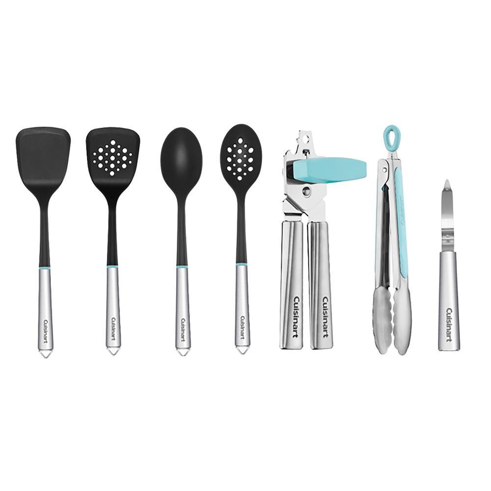Fusion Pro Aqua Kitchen Utensil (Set of 7)