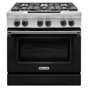 Beautiful 36 In. 5.1 Cu. Ft. Dual Fuel Range With Convection Oven In Imperial.  KitchenAid ...