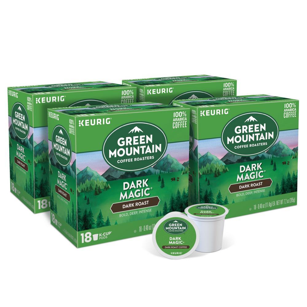 Keurig Green Mountain Dark Magic K-Cups (72-Counts)
