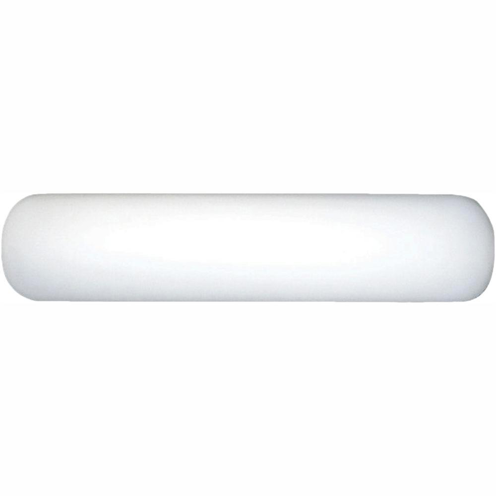 Progress Lighting 2-Light White Fluorescent Bathroom Vanity Light