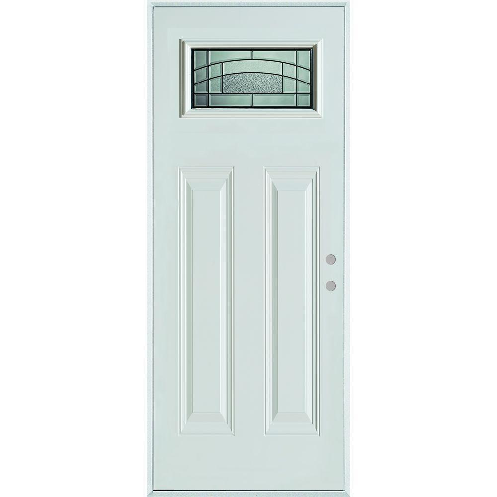 Stanley Doors 36 In X 80 In Chatham Patina Rectangular