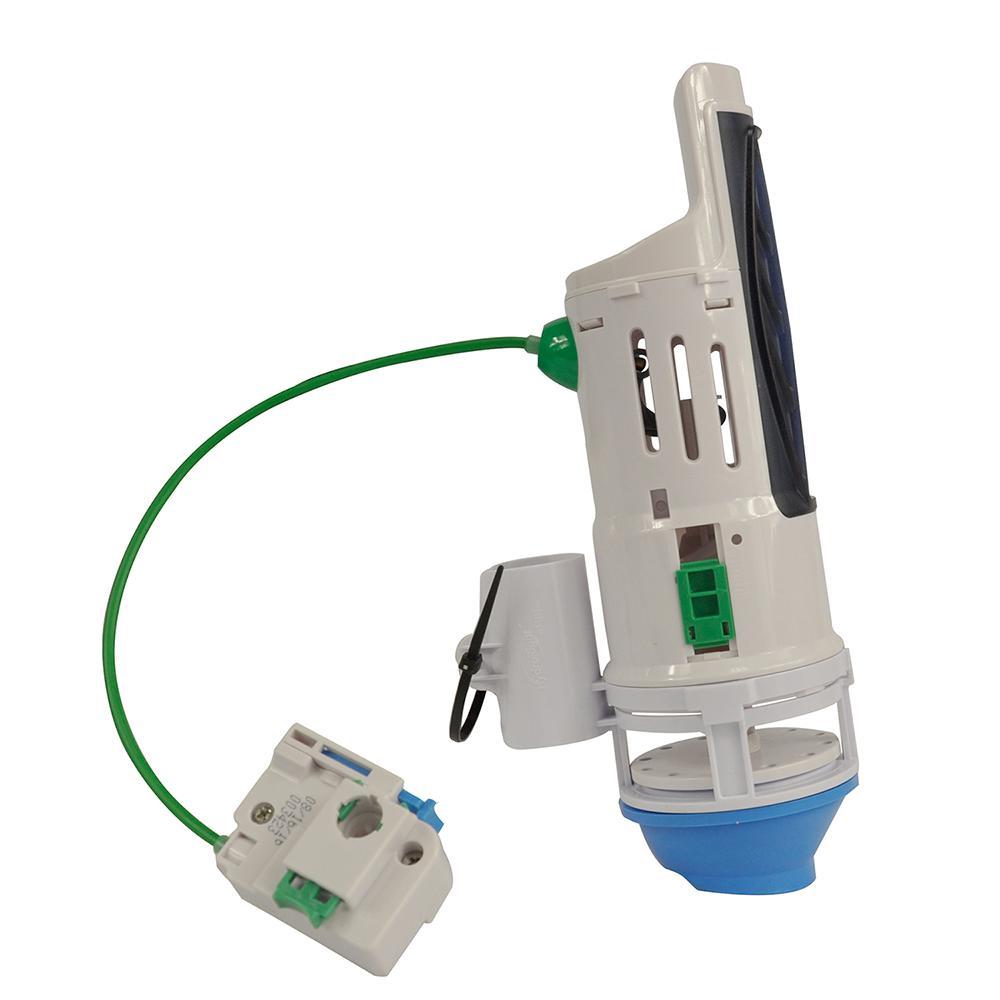 water saving toilet total repair kit with dual flush valve. Black Bedroom Furniture Sets. Home Design Ideas
