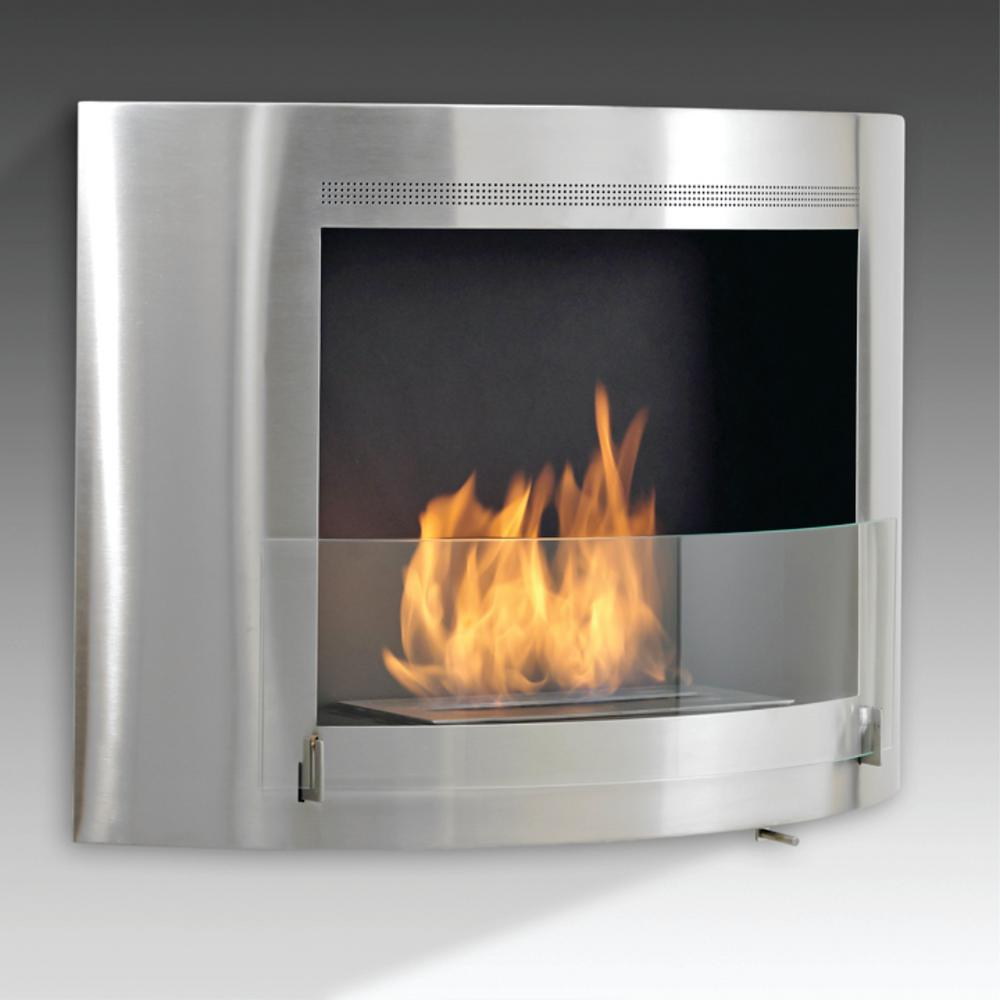 Nu Flame 8 Ft Grande Bio Ethanol Fire Fountain In Stainless Steel And Clear Glass Gr8sc Fire